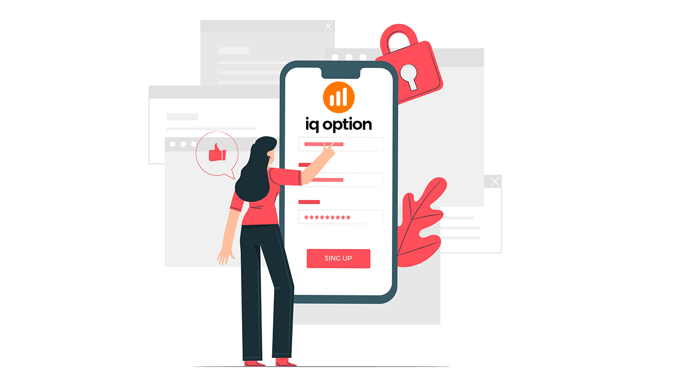 Cara Mendaftar dan Masuk Akaun di IQ Option