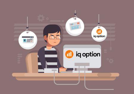 Cara Buka Akaun dan Log masuk ke IQ Option